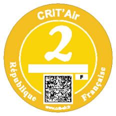 vignette Crit'Air 2