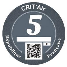 Vignette Crit'Air 5